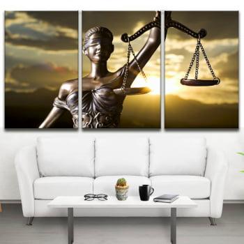 Tela em Canvas para Advocacia