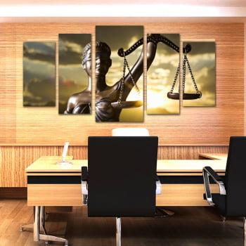 Quado Canvas Deusa da Justiça