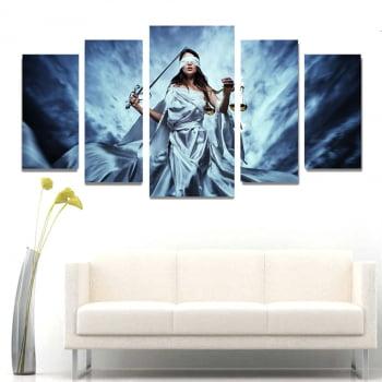 Quadro Canvas Advocacia Deusa Themis