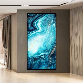 Tela em Canvas Abstrato Topázio - Quadros Gigantes