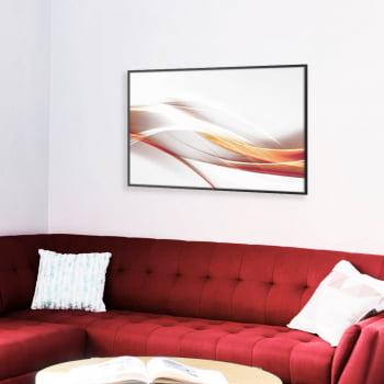 Quadro Decorativo para Sala Abstrato Wave II - Linha Prime