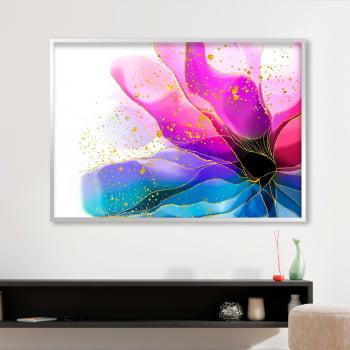 Quadro Decorativo para Sala Turmalina Bicolor - Linha Prime