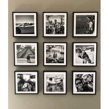 Kit de Quadros com Fotos 20x20cm