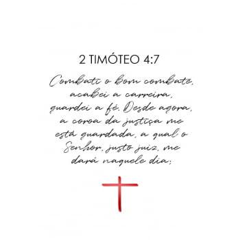 Conjunto de 3 Quadros para Sala de Jantar Pedro, Timóteo e Tiago - Religiosos
