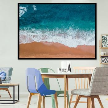 Quadro Decorativo para Sala de Jantar Praia II - Paisagens